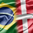 Brazil and Denmark — Stock Photo