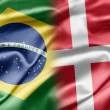 Stock Photo: Brazil and Denmark