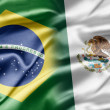 Stock Photo: Brazil and Mexico