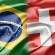 Stock Photo: Brazil and Switzerland