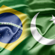 Brazil and Pakistan — Stockfoto