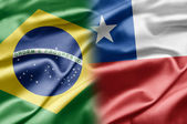 Brazil and Chile — Stock Photo