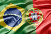 Brazil and Portugal — Stock Photo