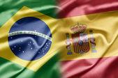 Brazil and Spain — Stock Photo