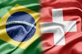 Brazil and Switzerland — Stock Photo