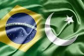 Brazil and Pakistan — Stock Photo