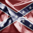 Stock Photo: Flag of Confederate