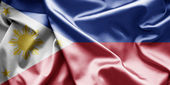 Bandeira das filipinas — Fotografia Stock