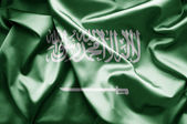Bandeira da arábia saudita — Fotografia Stock