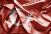 Bandeira da turquia — Fotografia Stock