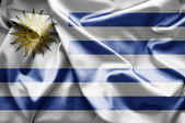 Flag of Uruguay — Stock Photo