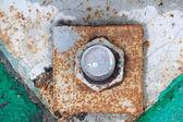 Rusty screw — Stock Photo