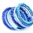 Stock Photo: Blue bracelet