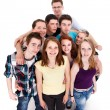 Group of teenager friends — Stock Photo #10786234