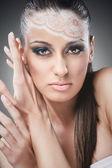 Beautiful make up woman — Stock Photo