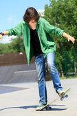 Skateboard Stunts — Stock Photo