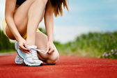 Running shoes — Stockfoto