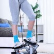 Home stepper trainer - Stock Photo