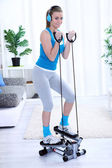 Young woman workout — Stock Photo