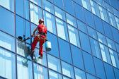 Service de nettoyage de windows — Photo