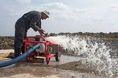 Brauchwasser-pumpe — Stockfoto