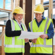 Stock Photo: At the construction site
