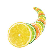 Fresh citrus fruits — Photo