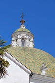 Dome at the church of San Francisco in Quito, Ecuador — Foto de Stock