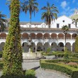 Courtyard at the church of San Francisco in Quito, Ecuador — Stockfoto