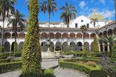 Courtyard at the church of San Francisco in Quito, Ecuador — Stock Photo