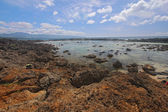 Pupukea tide pools on the north shore of Oahu, Hawaii — Stok fotoğraf