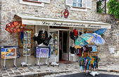 Souvenirs Shop in Barbizon — Stock Photo