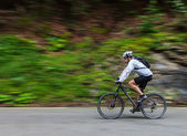 Speed cycling — Stock Photo