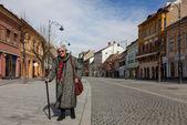 Äldre kvinna — Stockfoto