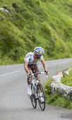 Climbing the Col D'Aubisque — Stock Photo