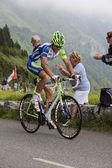 The Cyclist Paolo Longo Borghini — Stock Photo