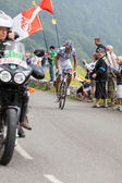 The cyclist Roy Jeremy — Stock Photo