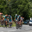 Group of Amateurs Cyclists — Stock Photo