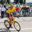 Постер, плакат: Yellow Jersey Fabian Cancellara