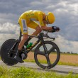Yellow Jersey- Bradley Wiggins - Stock Photo
