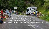 Road to Col d'Aubisque — Stock Photo