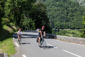 On the Road to Col d'Aubisque — Stock Photo