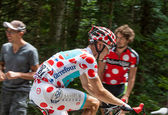 The Cyclist Fredrik Kessiakoff — Stock Photo