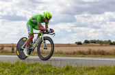 The Cyclist Sagan Peter — Stock Photo