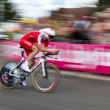 Stock Photo: Speedy Cycling