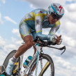The Kazakh Cyclist Fofonov Dmitriy - Stock Photo