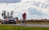 The Australian Cyclist Evans Cadel — Stock Photo