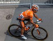 Los españoles ciclista perez moreno ruben — Foto de Stock