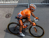 španělský cyklista perez moreno ruben — Stock fotografie