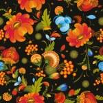 Seamless Background Flower Decorative — Stock Vector